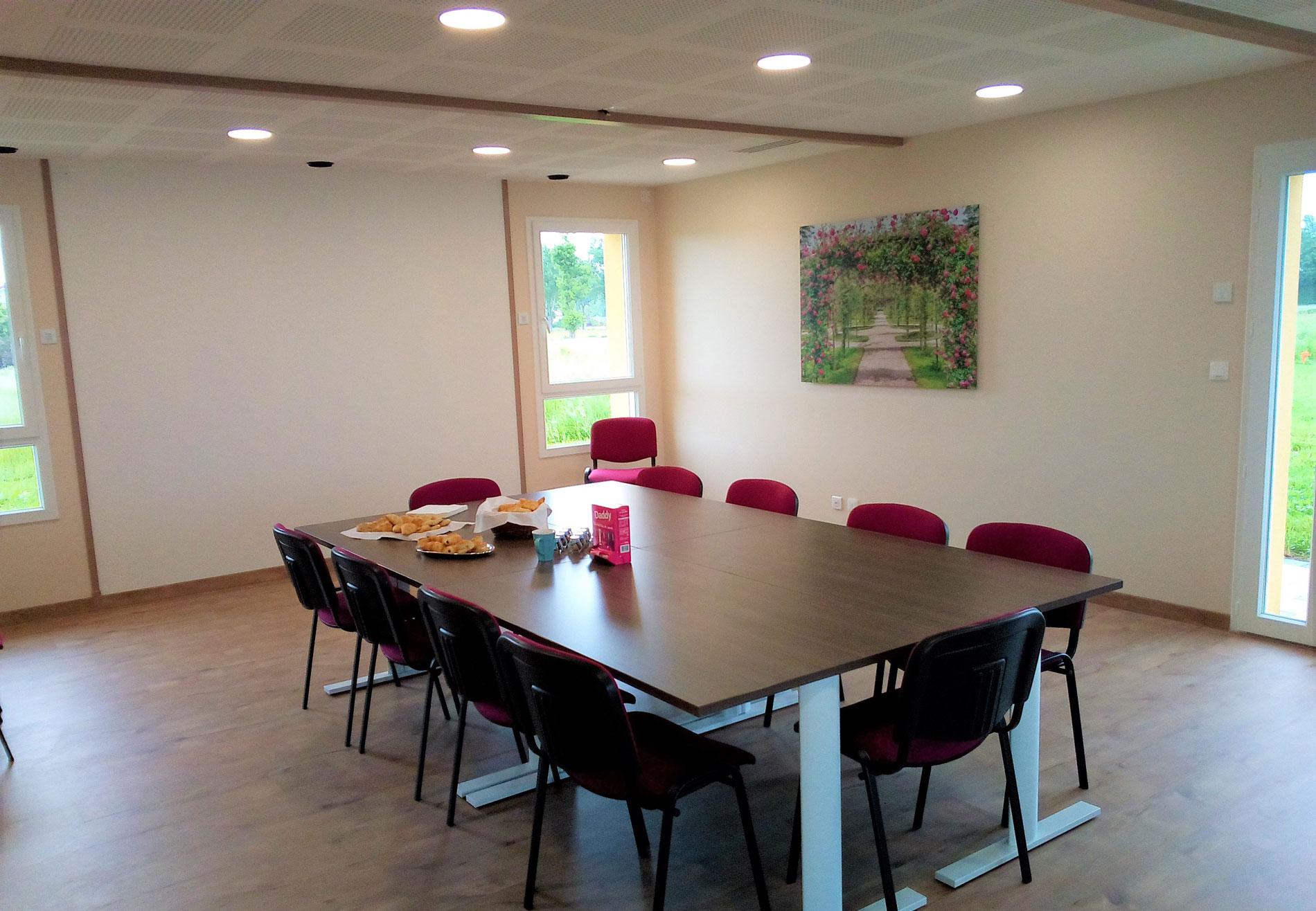 Salle de réunion Serpolen